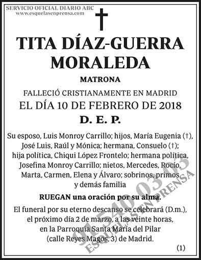Tita Díaz-Guerra Moraleda